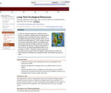 Long Term Ecological Resources