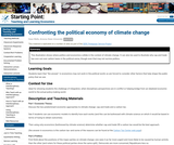 Confronting the political economy of climate change