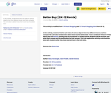 Better Buy (CK-12 Remix)