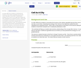 Cell As A City