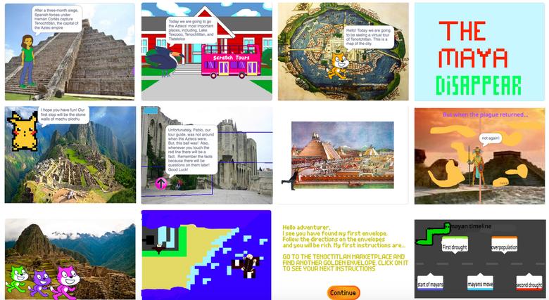 Virtual Field Trip in Scratch