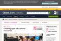 OpenLearn online course: Creating open educational resources