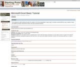 Microsoft Excel Basic Tutorial