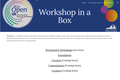 Workshop in a Box for #GoOpenVA
