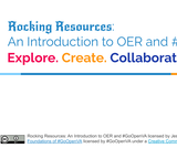 Rocking Resources: An Introduction to OER and #GoOpenVA