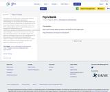 Fry's Bank