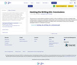 Hacking the Writing SOL: Conclusions