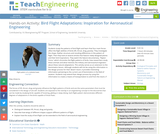 Adaptations for Bird Flight – Inspiration for Aeronautical Engineering