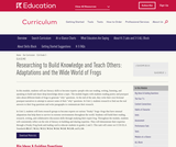 Grade 3: Language Arts: Module 2: Adaptations and the Wide World of Frogs (Second Edition)