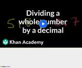 Arithmetic Operations: Dividing Decimals 4