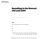 3.NBT, 4.NBT Rounding to the Nearest 100 and 1000