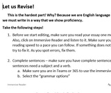 Revise and Edit Using the Immersive Reader
