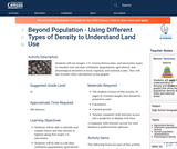 Beyond Population - Using Different Types of Density to Understand Land Use