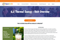 6.2 Thermal Energy - Unit Overview