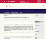 Grade 3: Language Arts: Module 1: Overcoming Learning Challenges Near and Far (Second Edition)