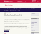 Grade 2: Reading Foundations Skills Block: Module 4