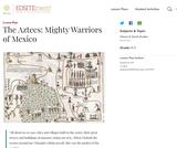 The Aztecs: Mighty Warriors of Mexico