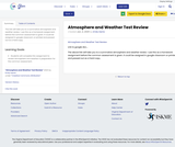 Atmosphere and Weather Test Review