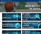 Bedford County Public Schools Return to School page