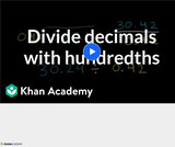 Arithmetic Operations: Dividing Decimals 5