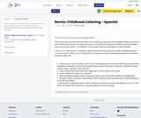 Remix: Childhood Listening - Spanish