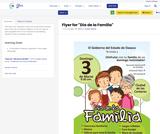 """Flyer for """"Día de la Familia"""""""