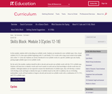 Grade 1: Reading Foundations Skills Block: Module 3