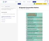 20 Spanish Conversation Starters