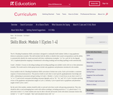 Grade 1: Reading Foundations Skills Block: Module 1
