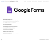 Cori Sower's (Danville) Google Forms