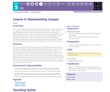 CS Discoveries 2019-2020: Data and Society Lesson 5.4: Representing Images