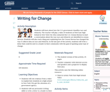 Writing for Change