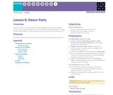 Hour of Code 1.8: Dance Party
