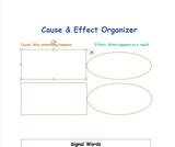 Cause & Effect Organizer