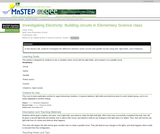 Investigating Electricity: Building Circuits in Elementary Science Class