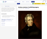 Andrew Jackson: Conflicting Legacy