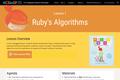 Ruby's Algorithms (Lesson 1)