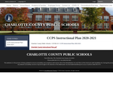 Charlotte County Instructional Plan 2020-2021