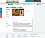 Audio and Speaker Electronics