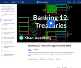 Banking, Money, Finance: Introduction to Government Debt and Treasuries