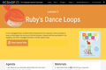 Ruby's Dance Loops (Lesson 2)