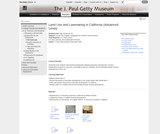 Land Use and Lawmaking in California (Advanced Level)