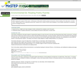 Environmental Education: Reading Poetry Fluently