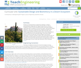 Implementing Biomimicry and Sustainable Design with an Emphasis on the Application of Ecological Principles