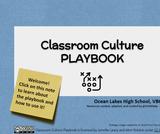 Classroom Culture Playbook