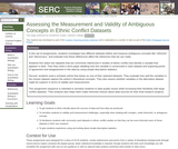 Assessing the Measurement and Validity of Ambiguous Concepts in Ethnic Conflict Datasets