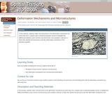 Deformation Mechanisms and Microstructures
