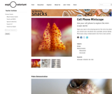 Cell Phone Miniscope