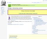 Biology In Elementary Schools