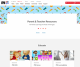 VPM: Parent & Teacher Resources: At-Home Learning For Kids of All Ages